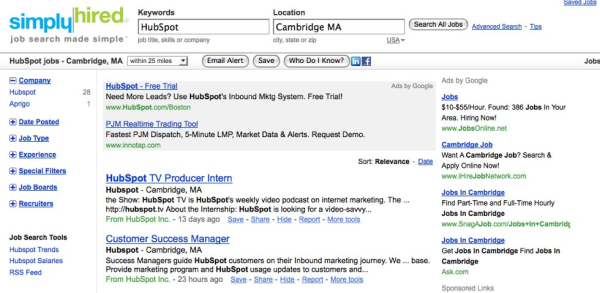 Hubspot Jobs   Cambridge, MA   Simply Hired resized 600