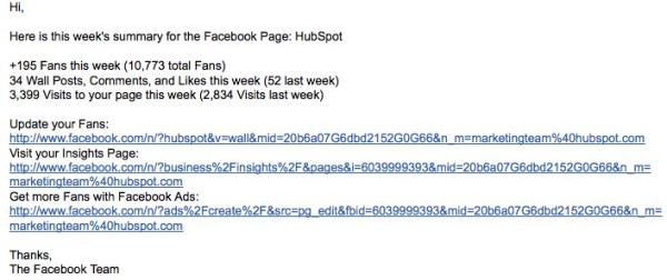 hubspot facebook