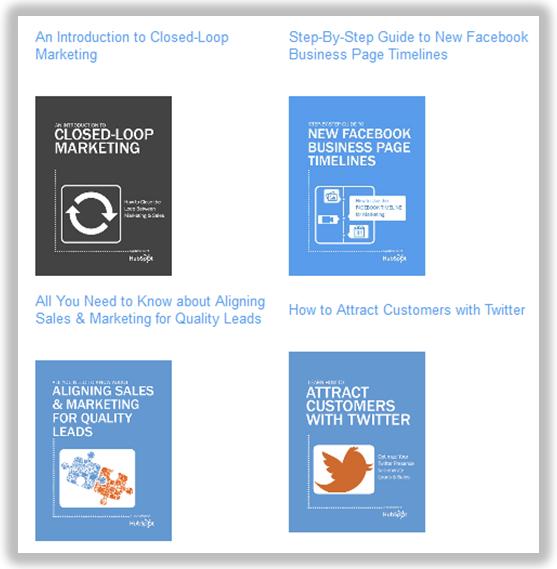 hubspot ebooks