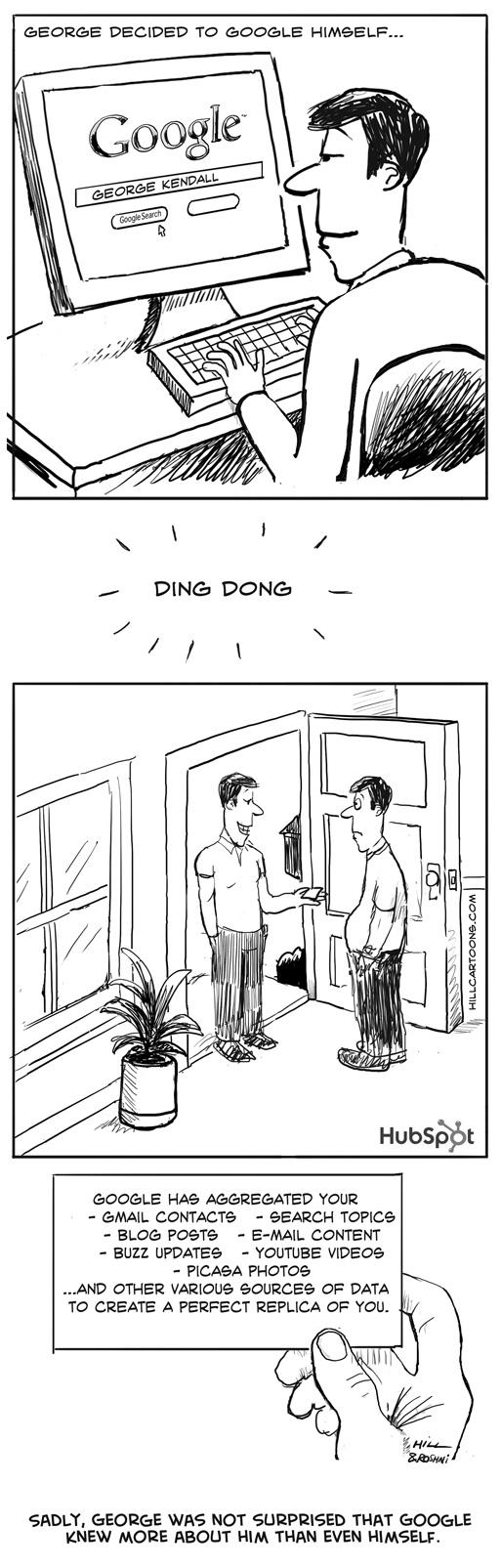 Cartoon-Google-Clone