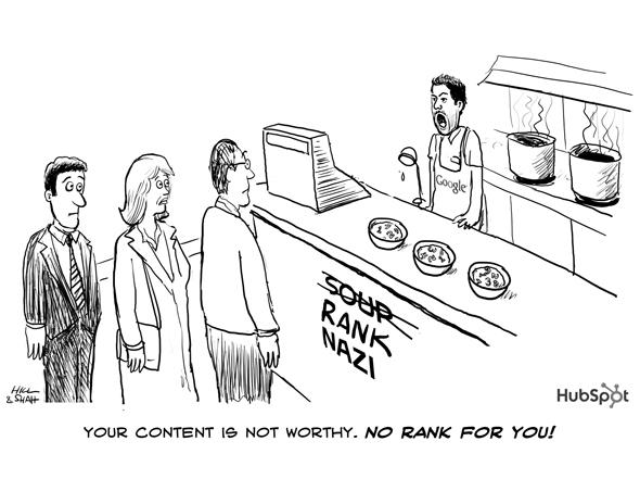 HubSpot Rank Worthy Cartoon