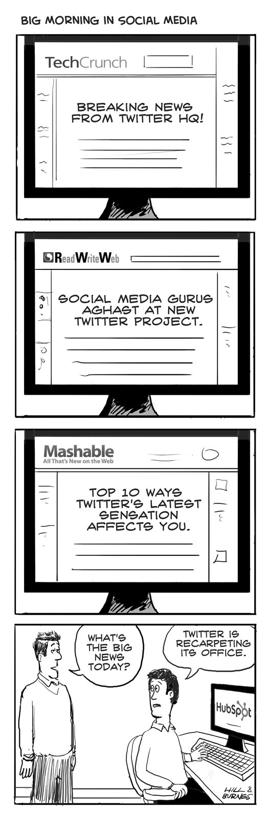twitter news cartoon