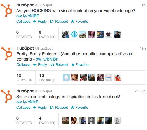 HubSpot Tweets