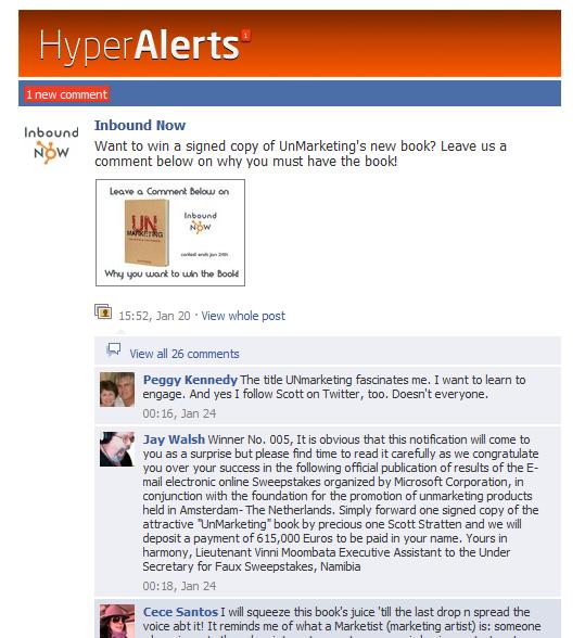 hyper alerts example