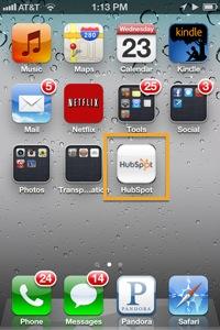 HubSpot Apple Icon