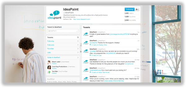 ideapaint facebook fan page