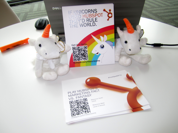 unicorn, qr code