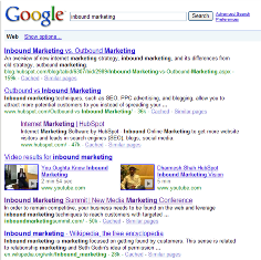 Inbound Marketing Universal Search
