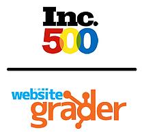 inc 500 website grader