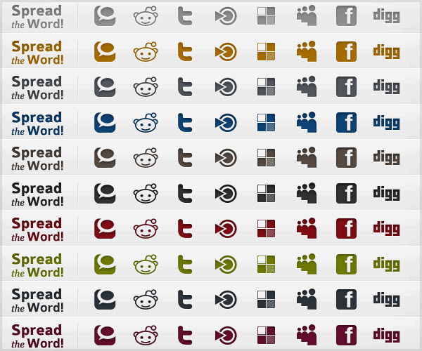 infocus icon set