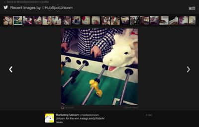 HubSpot Unicorn Instagram