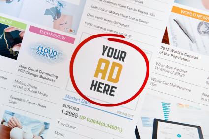 website ads