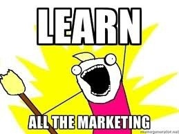 learn all the marketing