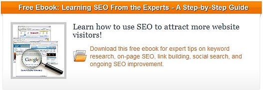 SEO ebook blog CTA