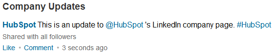 linked breaks up with twitter status updates