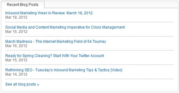 linkedin blog rss