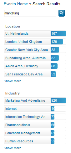 linkedin events search