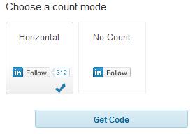 linkedin count mode