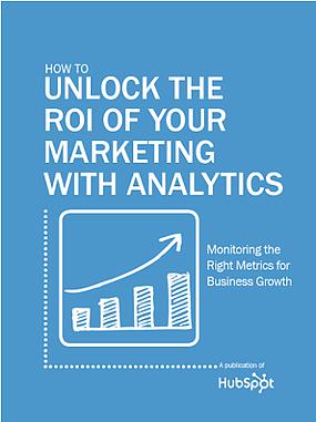 marketing analytics ebook