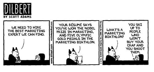 marketing cartoon