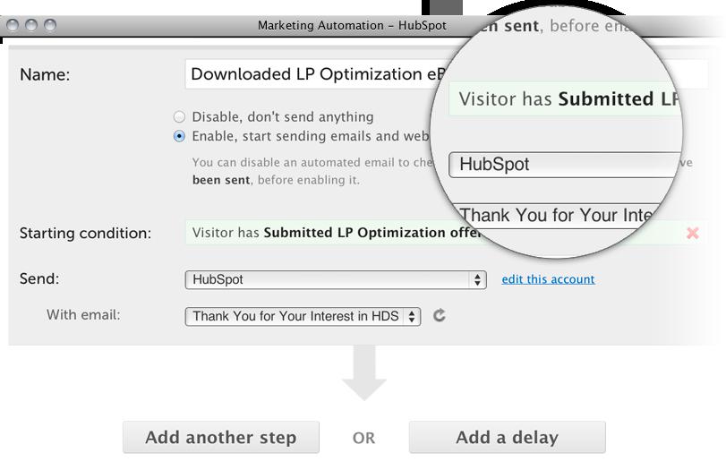 marketing automation prod page