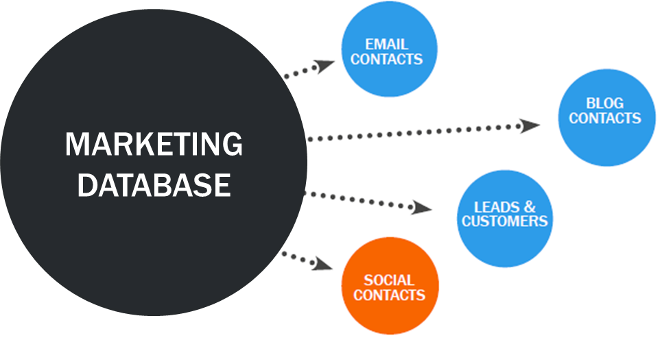 marketing database social media