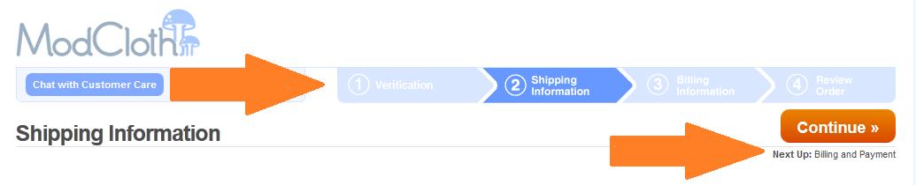 modcloth registration