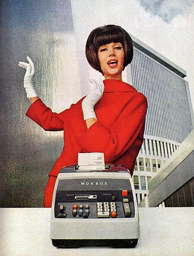 monroe ad 1960s