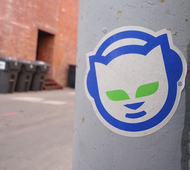 napster sticker