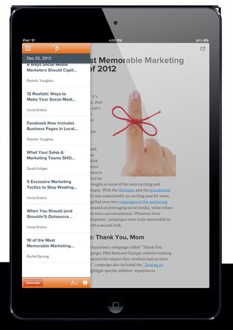 newsstand app menu 2