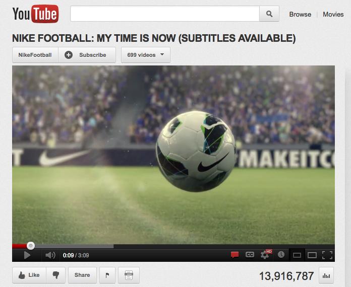 Nikes video ad