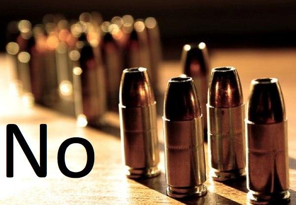 no bullets