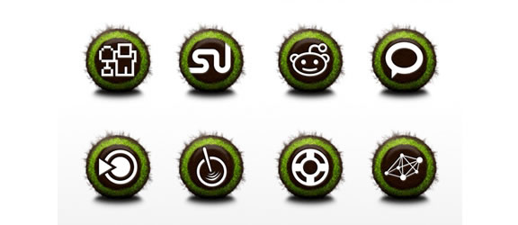 nurture icon set