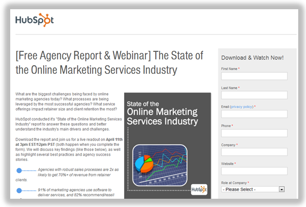 online marketing services industry report