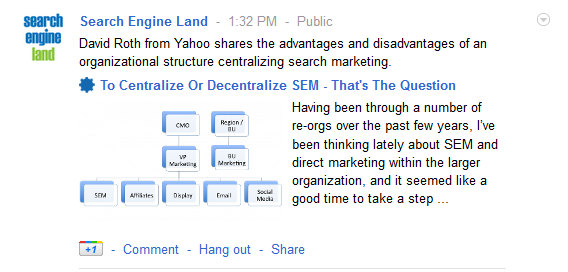 optimized social content