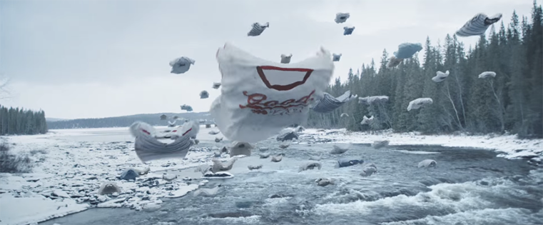 T-Shirts Migrate Home in IKEA's Stunning New Ad