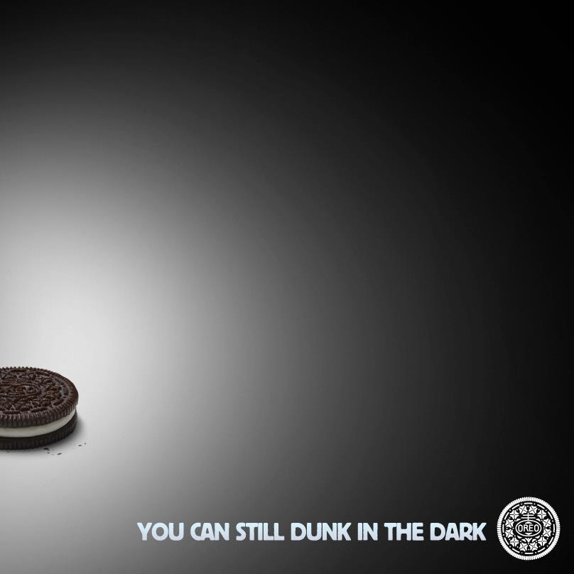 Oreo super bowl power outage