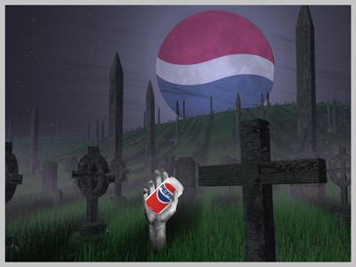 Pepsi Graveyard Chinese