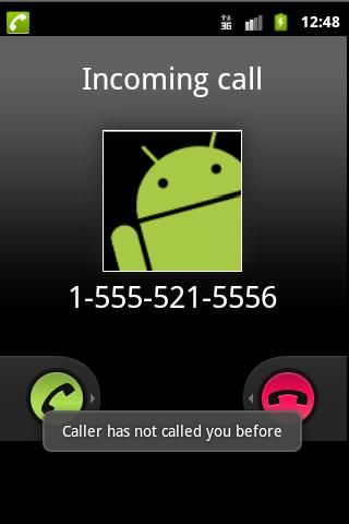 phone call incoming