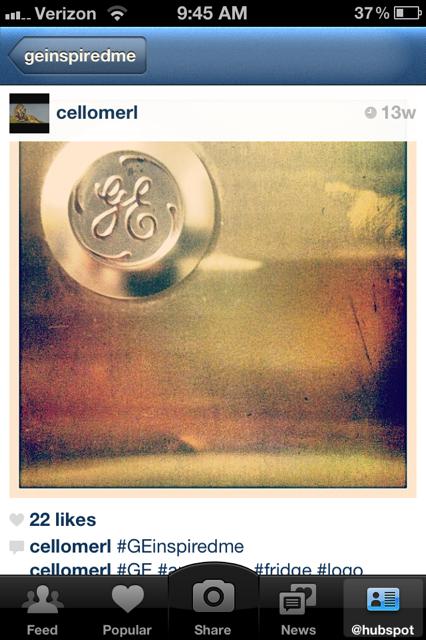 GE Inspired Instagram Contest