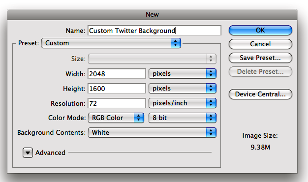 How to Create a Custom Twitter Background [With Video!]