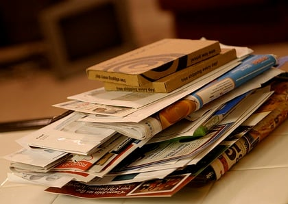 pile of mail