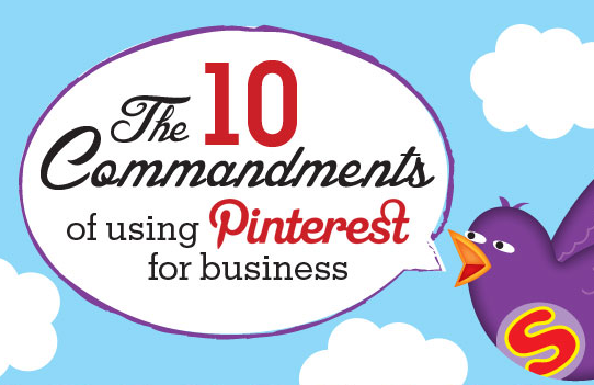 A Simple Cheat Sheet for Using Pinterest for Marketing [Infographic]