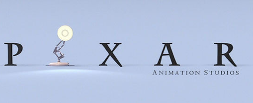 pixar lamp as an I logo