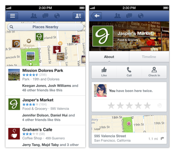 how to add a business to facebook places