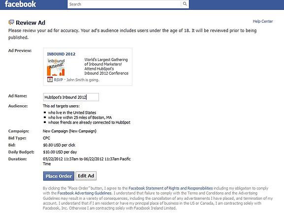 instructions for facebook step by step