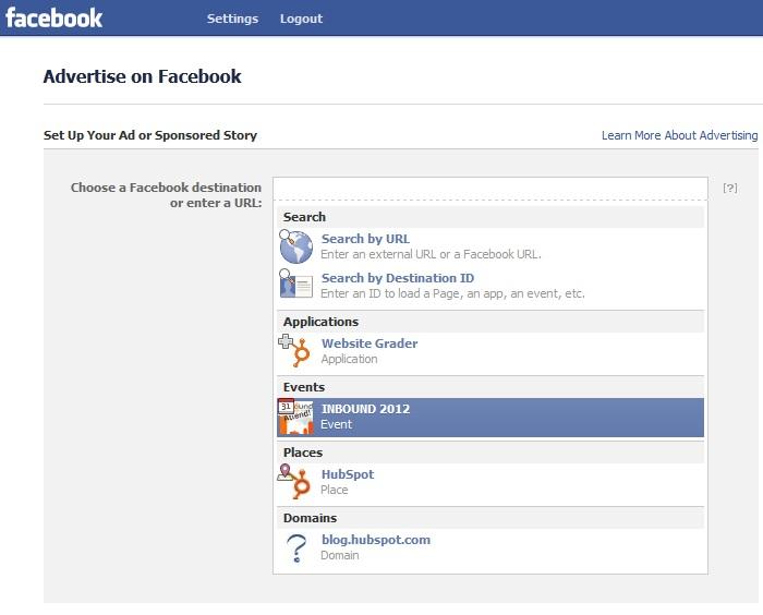 facebook ads step 2