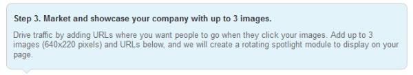 LinkedIn product and service spotlight