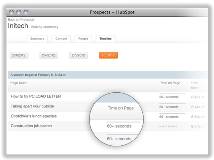 prospects tool