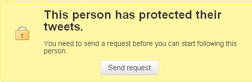 protected tweets